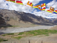 View from Key Monastery